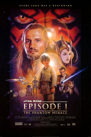 Star Wars: Episode I - The Phantom Menace artwork