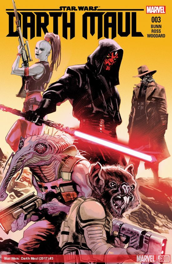 Star Wars: Darth Maul #3 artwork