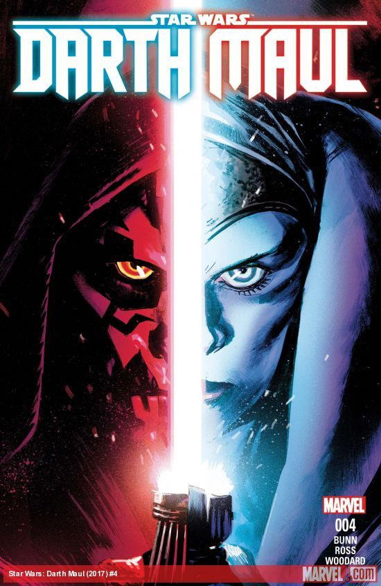 Star Wars: Darth Maul #4 artwork