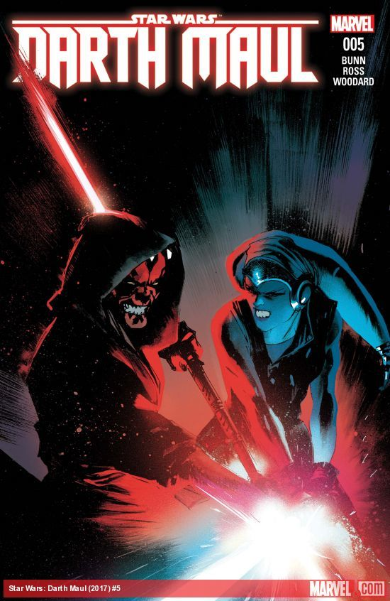 Star Wars: Darth Maul #5 artwork
