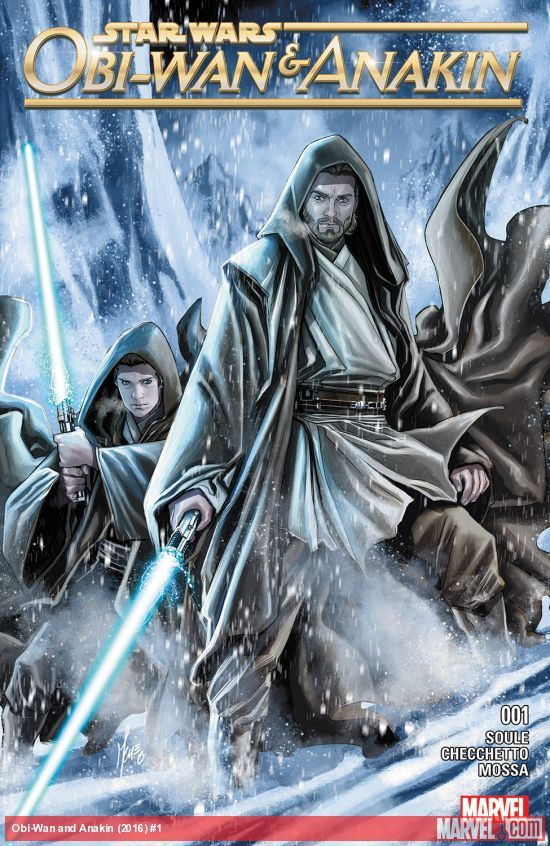 Star Wars: Obi-Wan & Anakin #1 artwork