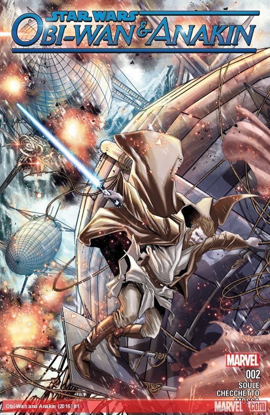 Star Wars: Obi-Wan & Anakin #2 artwork