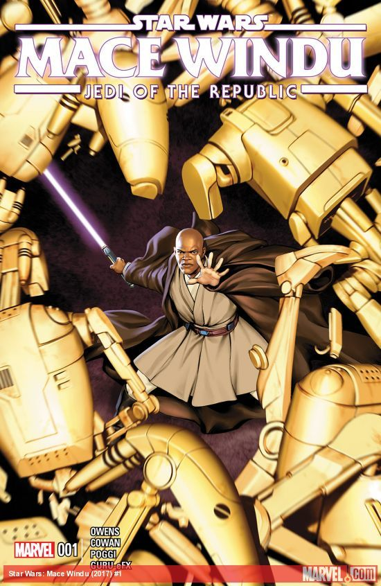 Star Wars: Jedi of the Republic - Mace Windu artwork
