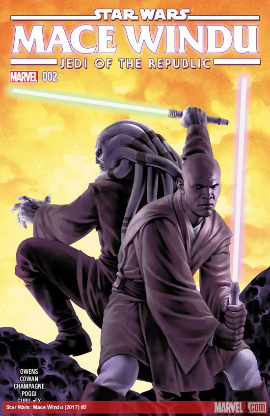 Star Wars: Jedi of the Republic - Mace Windu #2 artwork