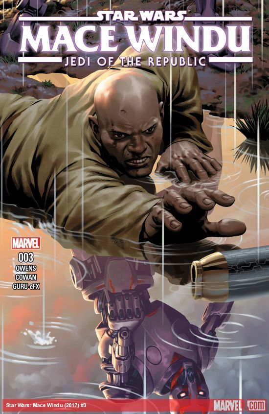 Star Wars: Jedi of the Republic - Mace Windu #3 artwork