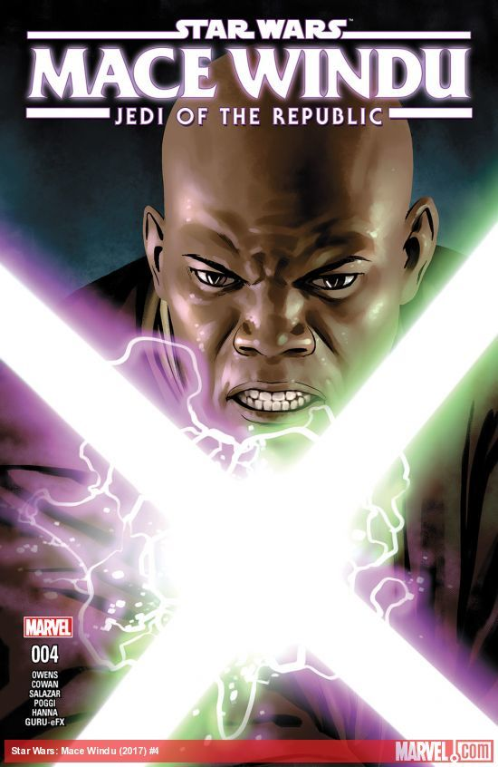 Star Wars: Jedi of the Republic - Mace Windu #4 artwork