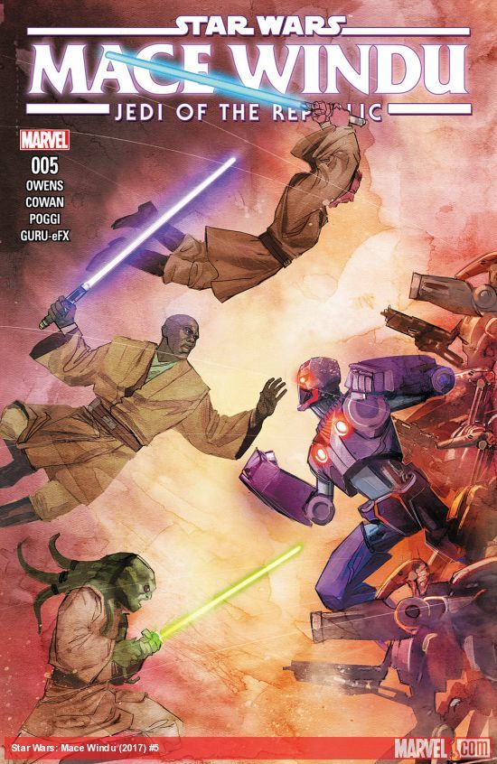 Star Wars: Jedi of the Republic - Mace Windu #5 artwork
