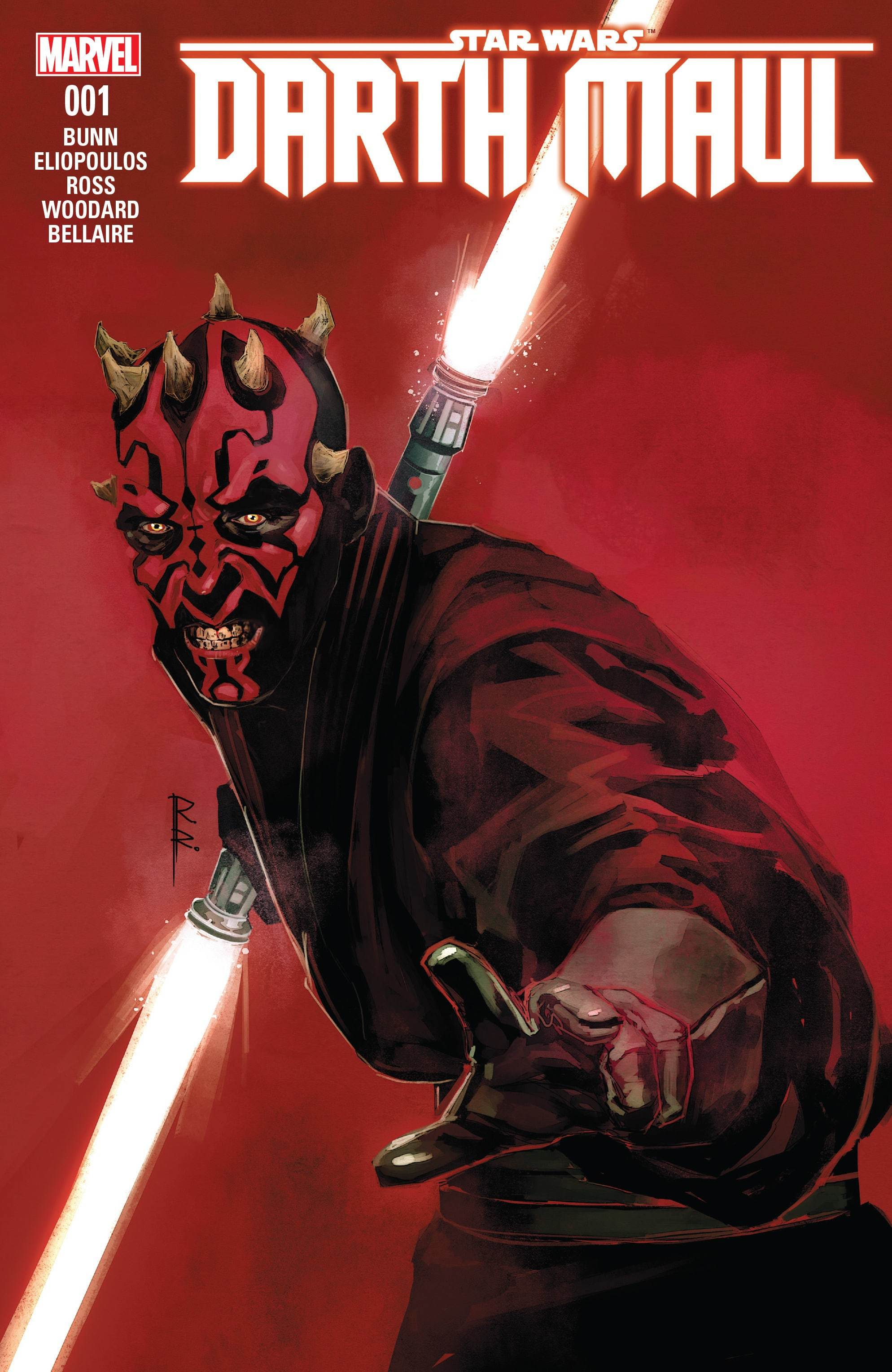 Star Wars: Darth Maul #1 artwork