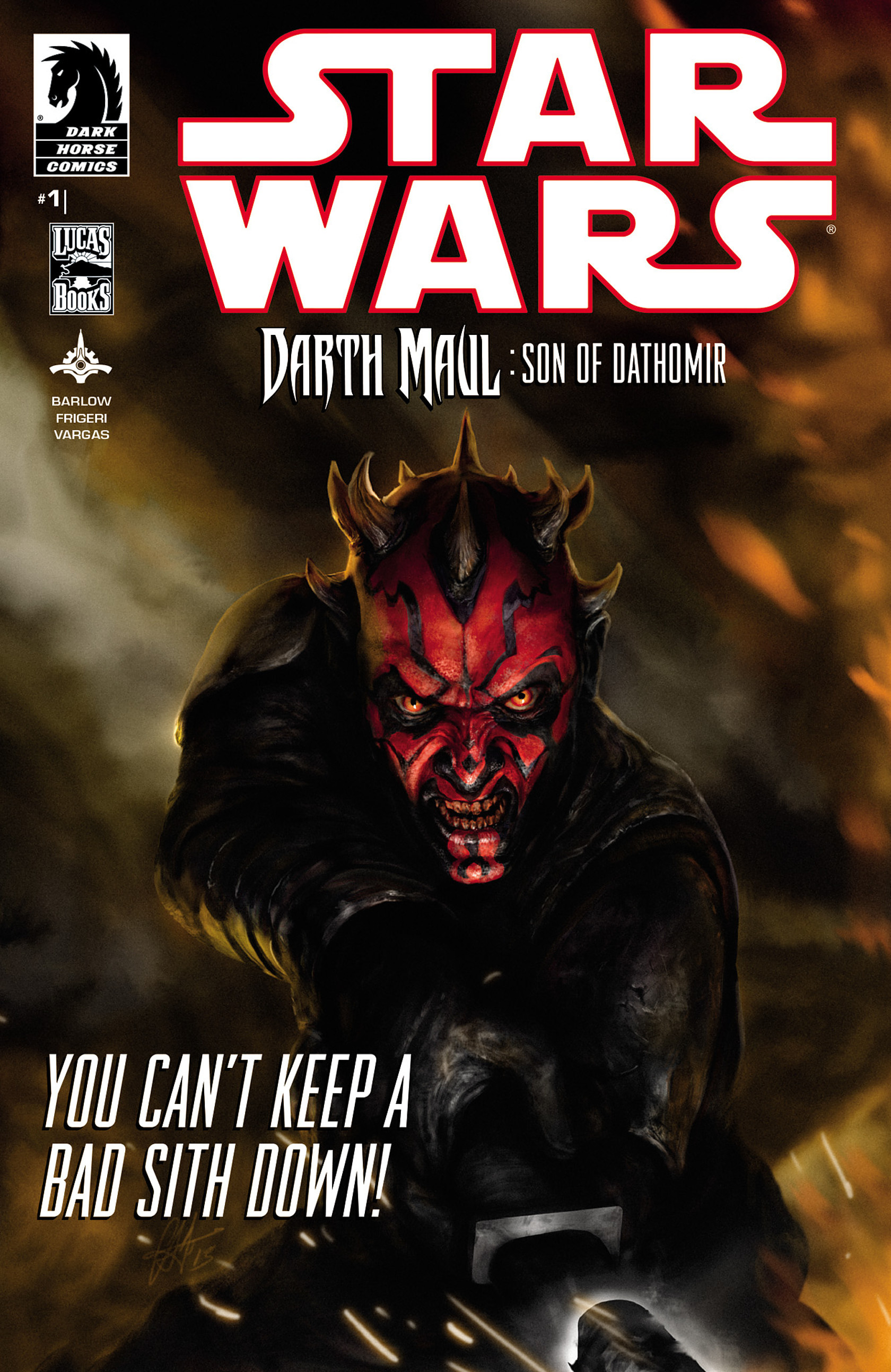 Star Wars: Darth Maul - Son of Dathomir, Part 1 artwork