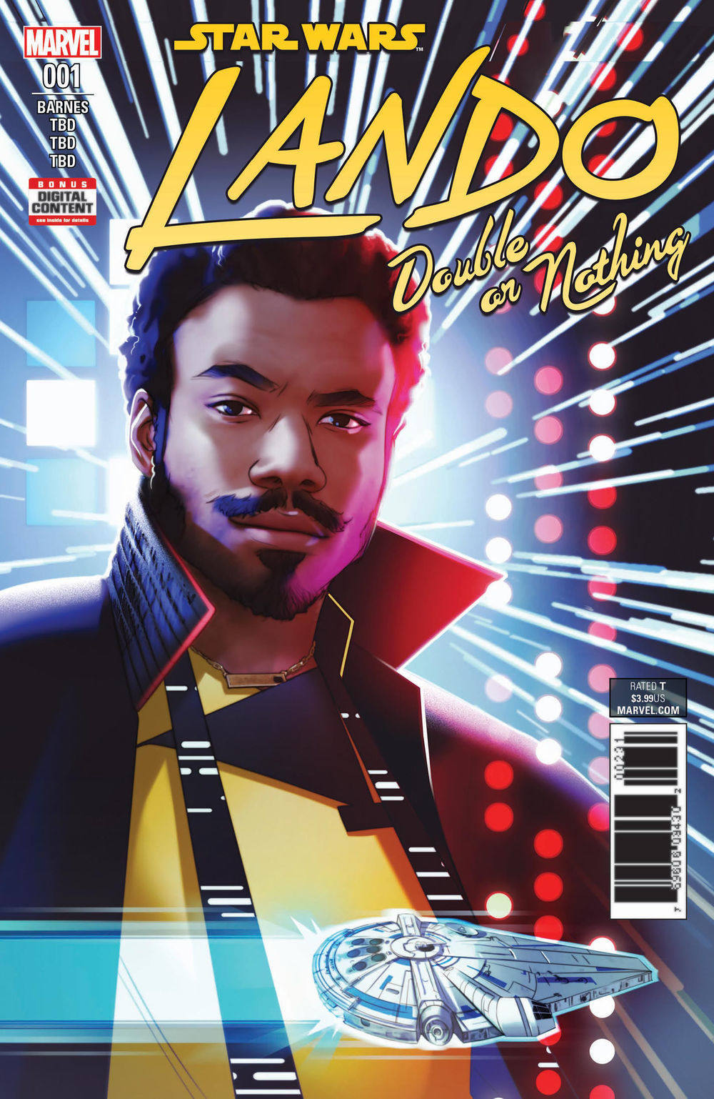 Star Wars: Lando: Double or Nothing artwork