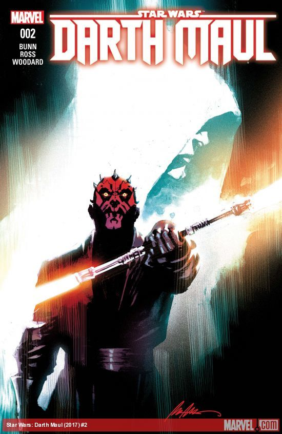 Star Wars: Darth Maul #2 artwork