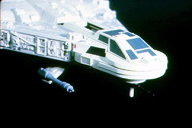 Kenner 1980s mini rig Millennium Falcon