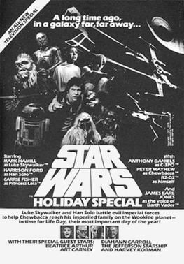 The Star Wars Holiday Special artwork
