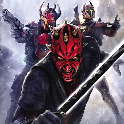 Darth Maul: Son of Dathomir artwork
