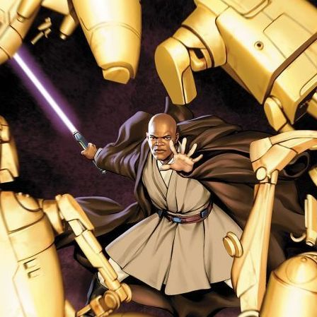 Jedi of the Republic: Mace Windu artwork